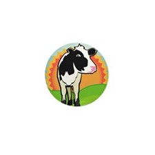 puzzleDairyCow Mini Button