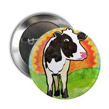 """stadiumBlanketDairyCow 2.25"""" Button"""