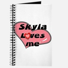 skyla loves me Journal