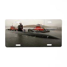 springfield framed panel pr Aluminum License Plate