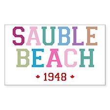 Sauble Beach 1948 B Decal
