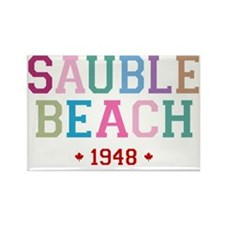 Sauble Beach 1948 B Rectangle Magnet