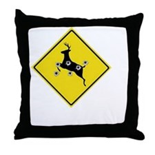 hunter_need_help_white_letters Throw Pillow