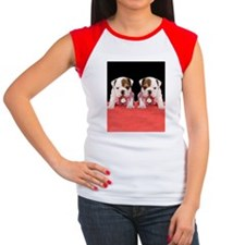 bulldog flip flips Women's Cap Sleeve T-Shirt