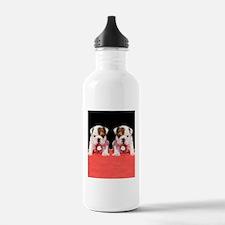 bulldog flip flips Water Bottle