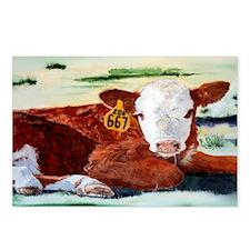 calfsticker Postcards (Package of 8)