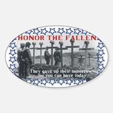 Honor the fallen Decal