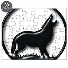 plastic wolf Puzzle