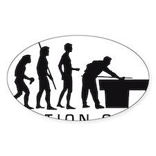 Evolution Billard B Decal