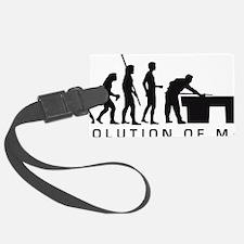 Evolution Billard B Luggage Tag