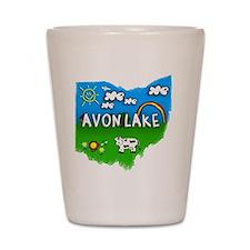 Avon Lake Shot Glass