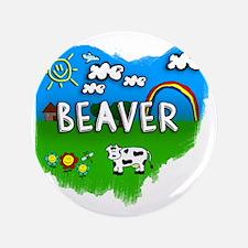 """Beaver 3.5"""" Button"""