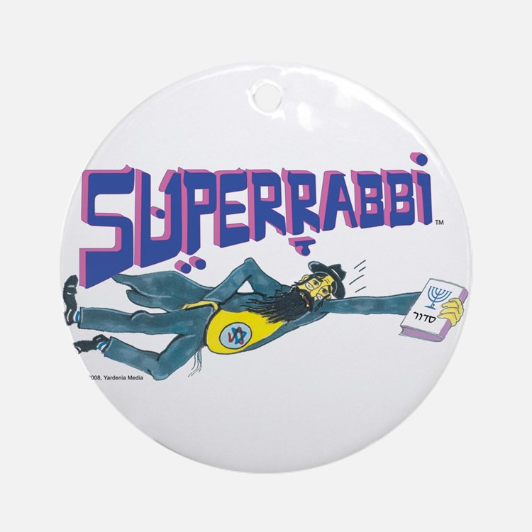 SUPERRABBI Ornament (Round)