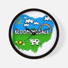 Bloomingdale Wall Clock