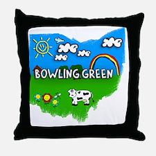 Bowling Green Throw Pillow