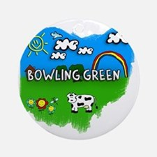 Bowling Green Round Ornament