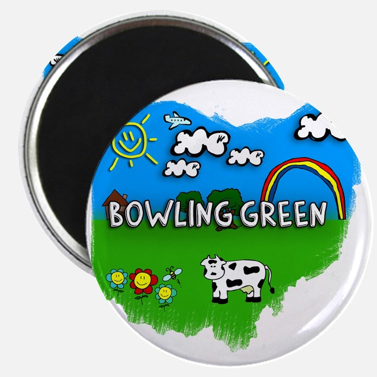 Bowling Green Magnet