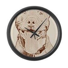 Pit Bull 16 Large Wall Clock