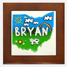 Bryan Framed Tile