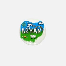 Bryan Mini Button