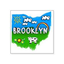 """Brooklyn Square Sticker 3"""" x 3"""""""