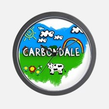 Carbondale Wall Clock