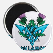 Thistles Lamont Magnet