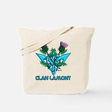 Thistles Lamont Tote Bag