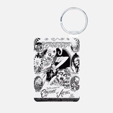 Ache Poster Large copy Aluminum Photo Keychain