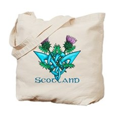 Thistles Scotland Tote Bag
