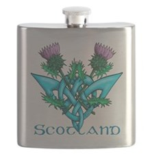 Thistles Scotland Flask