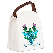Thistles Scotland Canvas Lunch Bag