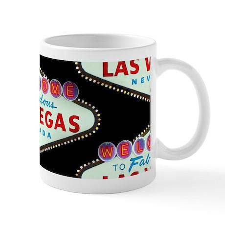 Black Las Vegas Sign 11oz Mug