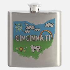 Cincinnati Flask