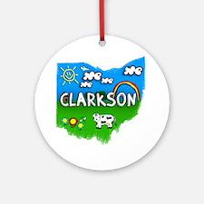 Clarkson Round Ornament