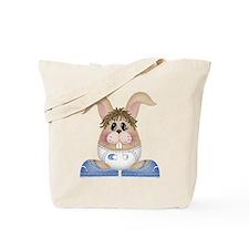 BABY BOY BUNNY Tote Bag