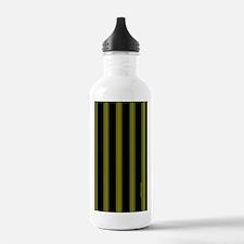 nooksleeveyellowpinstr Water Bottle