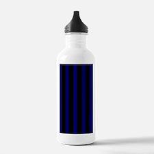 nooksleevebluepinstrip Water Bottle