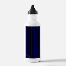 kindlesleevebluepinstr Water Bottle