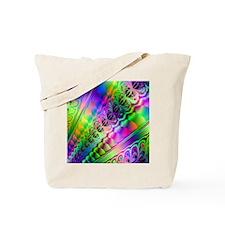 fractal-colors Tote Bag