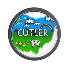 Cutler Wall Clock
