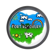 Fort Recovery Wall Clock