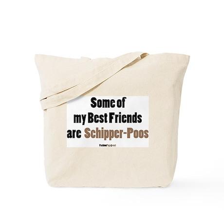 Schipper-Poo dog Tote Bag