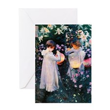 K/N Sargent Lily Greeting Card