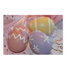 Mom Easter Eggs Postcards (Package of 8)