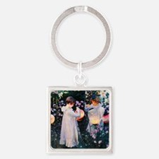 iPad Sargent Lily Square Keychain