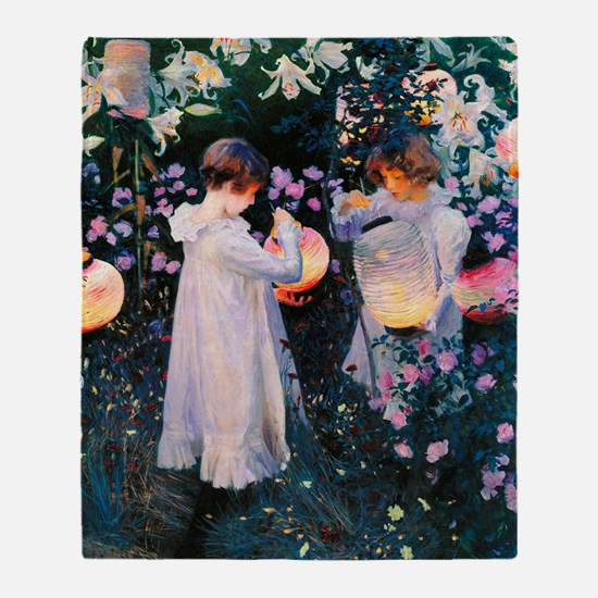 iPad Sargent Lily Throw Blanket