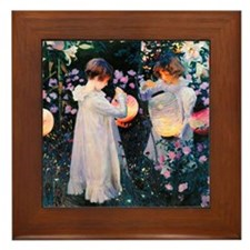 iPad Sargent Lily Framed Tile