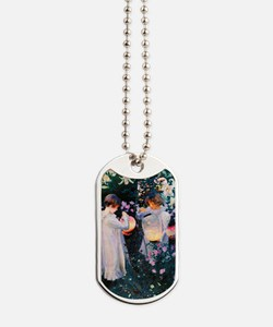 Journal Sargent Lily Dog Tags