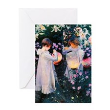 Journal Sargent Lily Greeting Card